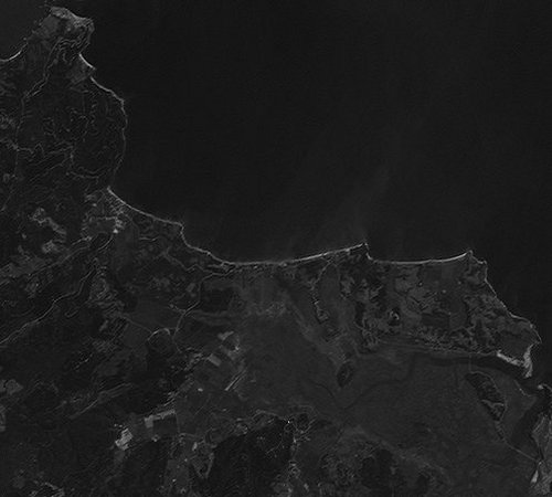 Landsat Band Image After Deconvolution